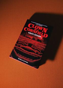 34 clown in a cornfield